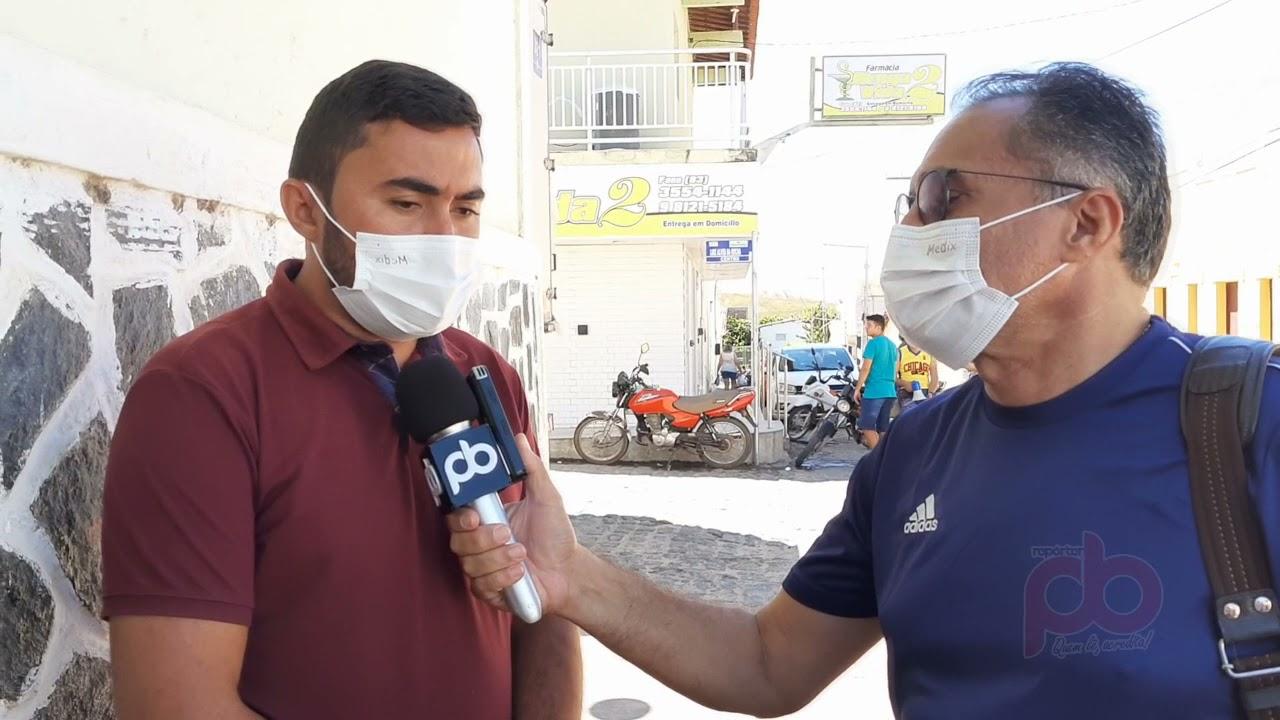 Vereador Lucas Vieira afirma ser a favor da construção da rodoviária em Nazarezinho