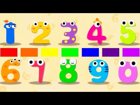 New ABC Song Collection - Learning ABC and Numbers with funny Panda 2017