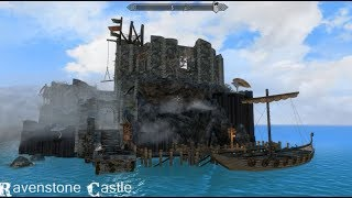 Ravenstone Castle - Solstheim Edition - Skyrim Special Edition House Mod