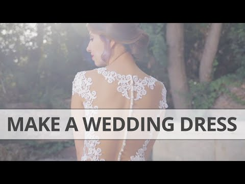 How to make your own Wedding Dress DIY
