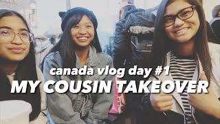COUSIN TAKEOVER | Canada Day 1