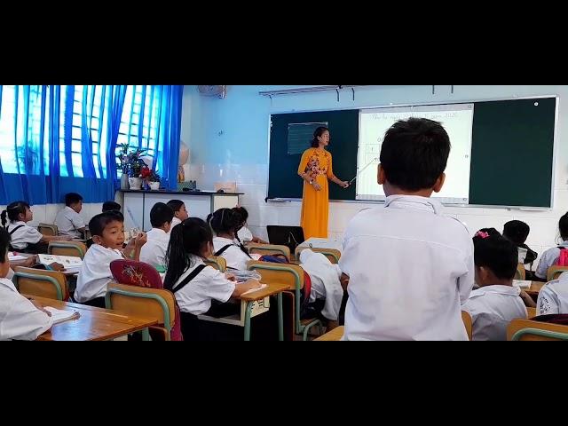 Bài giảng lớp 1 theo chương trình mới