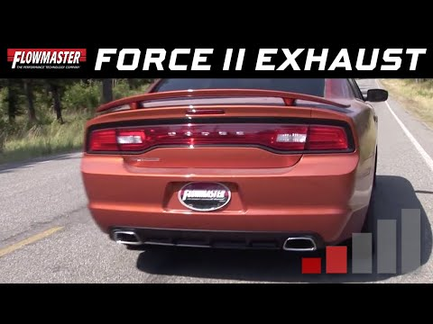 2011-14 Charger SE 3.6L - Force II Cat-back Exhaust System 817543