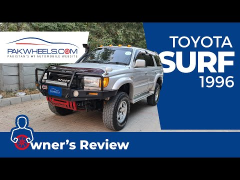 Toyota Surf 1996 | Owner's Review | PakWheels