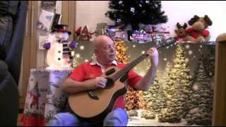 preview picture of video 'Feliz Navidad-John Mason guitarist from Treherbert Rhondda,South Wales.mp4'