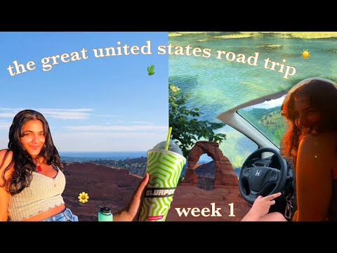 The Great United States Road Trip | Episode I: midwest, colorado, utah!