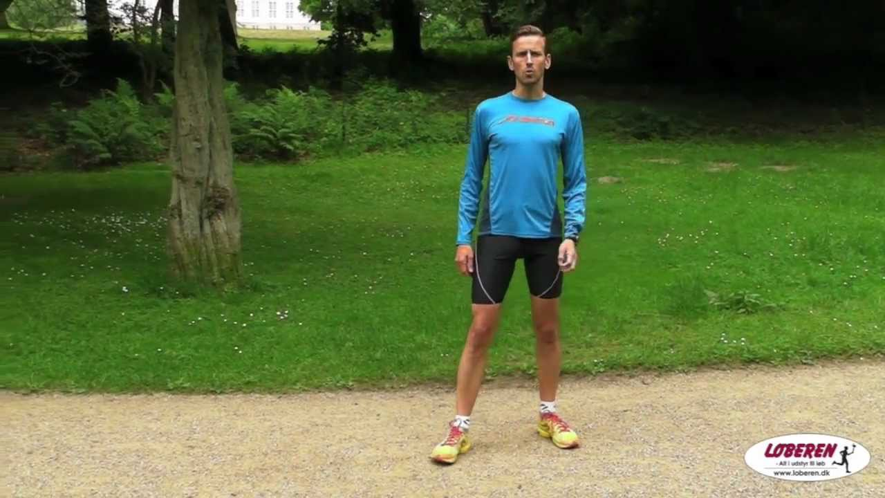 Natural Running - fodens placering