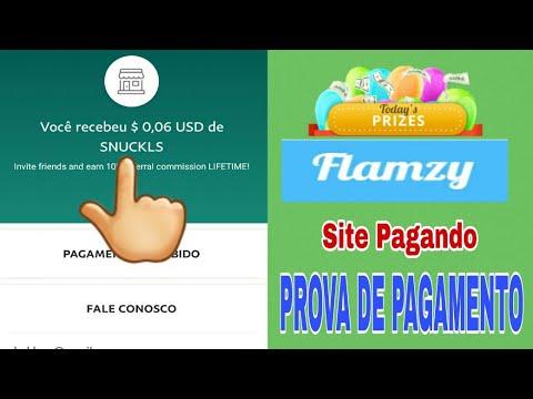 Ganhar Dinheiro no Paypal Assistindo VÍDEOS + Prova de Pagamento - Flamzy