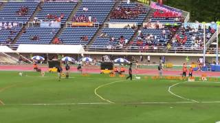 2017 山形インターハイ陸上 女子400m 準決勝1~3