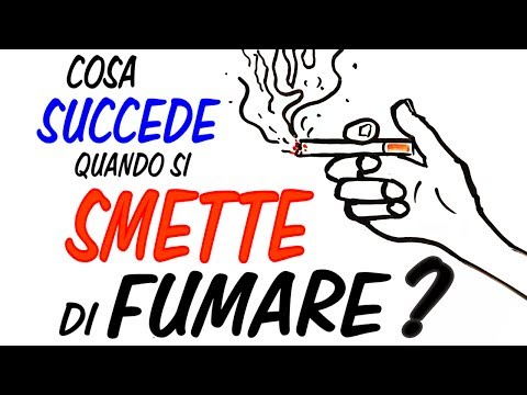 Se bruscamente smettere di bere il video