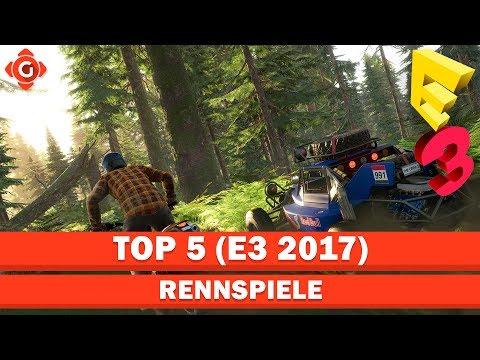 Top 5 E3 2017 | Die besten Rennspiele