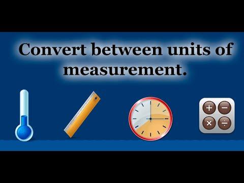 Video of Converter units