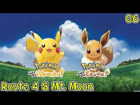 Pokemon: Lets Go, Eevee! - Mt  Moon, Team Rocket, Bug