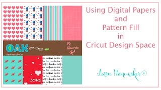 Digital Papers And Pattern Fill In Cricut Design Space