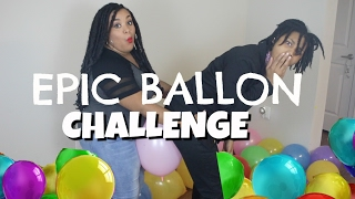 BALLOON CHALLENGE 2.0 SOMEBODY GETS HURT!!!