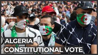 Algeria votes on referendum aimed at ending protest movement