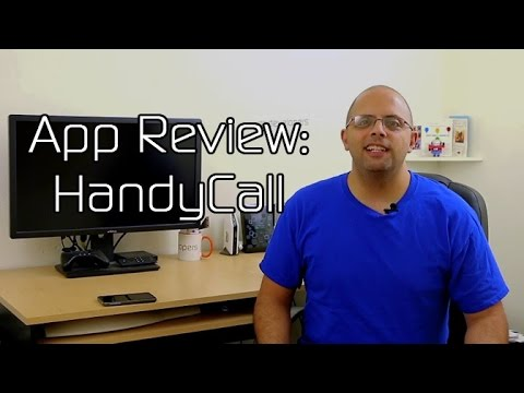 Video of HandyCall Lollipop Call Popup