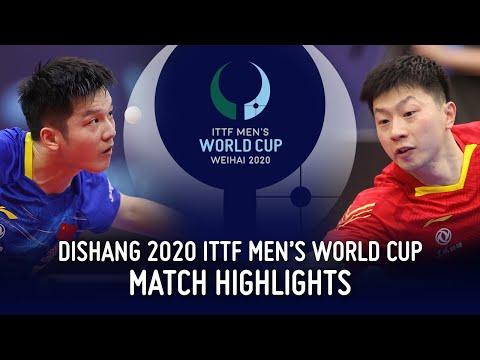 마롱 vs 판젠동 | 2020 ITTF Men's World Cup Highlights (Final)