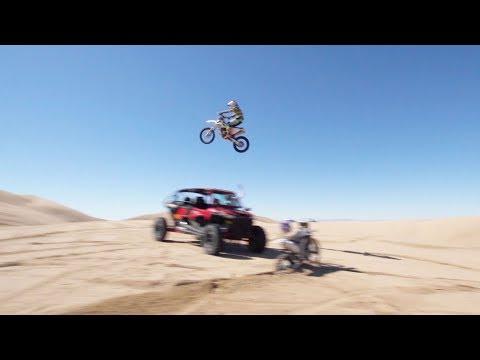 129 foot dune jump rider vlog