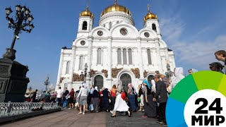 Мощам Спиридона в Москве за три дня поклонились 40 тысяч человек - МИР 24