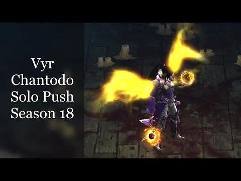 Wizard Vyr Chantodo Archon Greater Rift Solo Push Season 18 Guide