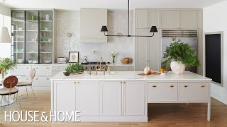 Makeover: An English-Inspired Kitchen And Colorful Sitting Rooms