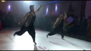 Silman & Aman Bhangra Dance - Nakhreya Mari