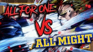 United States of Smash! - Animelee (All Might vs All for One)