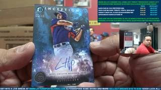 Quad Case Break 2016 Topps The Mint, Strata, Tribute & Bowman Inception Baseball