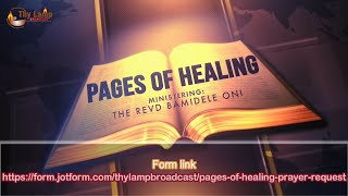 Revealing The Work of God! - Pages of Healing Special with Fasting and Praying - POH s018
