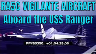 RA5C VIGILANTE AIRCRAFT Aboard the USS Ranger (silent film) VIETNAM ERA 80350