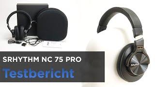 SRHYTHM NC 75 im Test - Bluetooth-Kopfhörer mit sanftem ANC