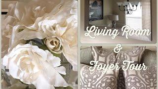 Living Room & Foyer Tour