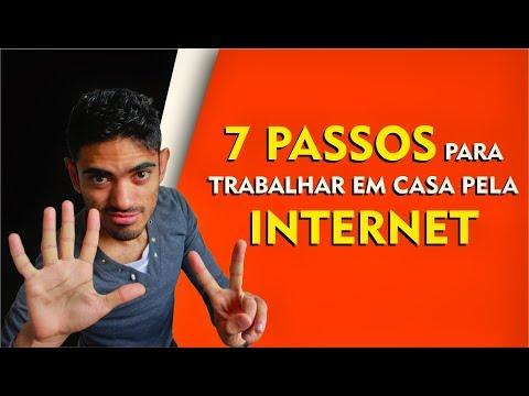 7 PASSOS PARA TRABALHAR EM CASA PELA INTERNET