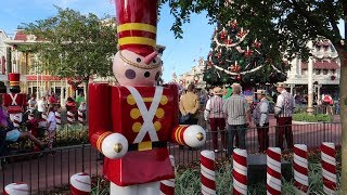 Christmas Is Starting Now At Disney World's Magic Kingdom! | ALL NEW Snacks, Jingle Cruise & Merch!