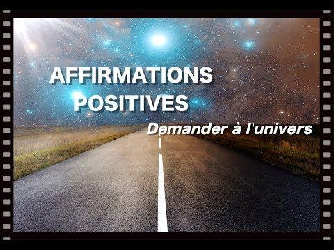 AFFIRMATIONS POSITIVES, DEMANDER À L'UNIVERS, EFT POSITIF, DÉFI 21 JOURS