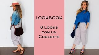👖💁♀️ LOOKBOOK / 8 Looks 1 COULOTTE / Craftabulous