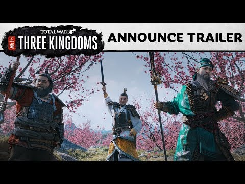 Total War: THREE KINGDOMS - Announcement Cinematic thumbnail