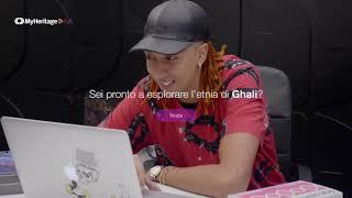 Ghali - Prima reaction al test del DNA Deluxe X