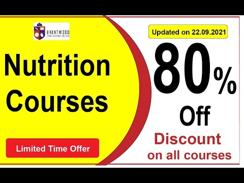 Food Nutrition and Dietetics Course | Diet and Nutrition Advanced ...