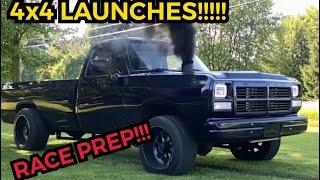 First Gen Cummins 4x4 Launch Prep For East Coast Diesel Nationals