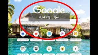 Disable - Hold To Quit Google Chrome