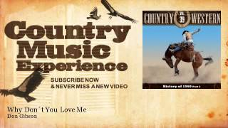 Don Gibson - Why Don´t You Love Me - Country Music Experience