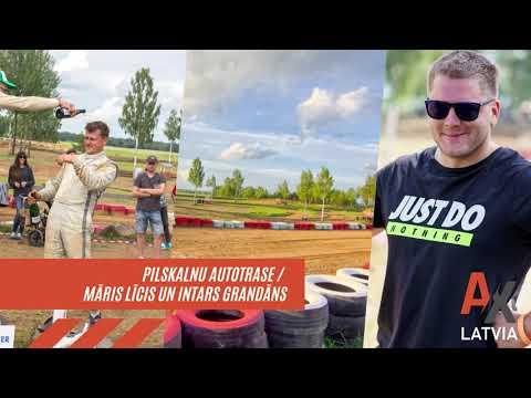 PILSKALNU AUTOTRASE / MĀRIS LĪCIS UN INTARS GRANDĀNS