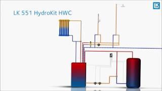 LK 551 HydroKit HWC Film (LKA) LK 551 HydroMix HWC