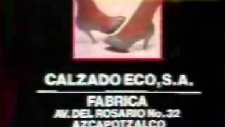 Comercial calzado Andrea 1985 (México)