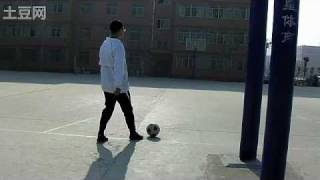 preview picture of video 'freekick-Kick Ball Into Basket'