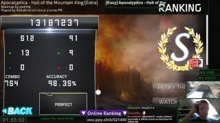 Apocalyptica - Hall of the Mountain King 98.35% HDHR FC