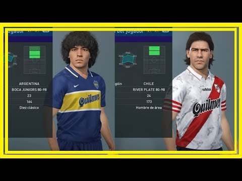 CLASSIC RIVER PLATE PES 2019 - ALL TIME XI - LIBERTADORES LEGENDS