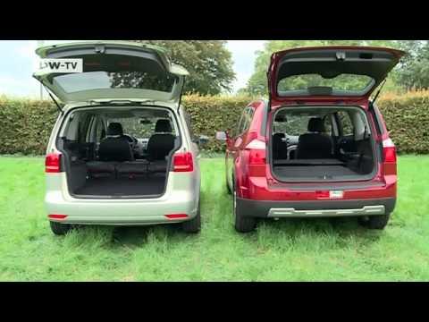 compare it! VW Touran vs. Chevrolet Orlando | drive it!